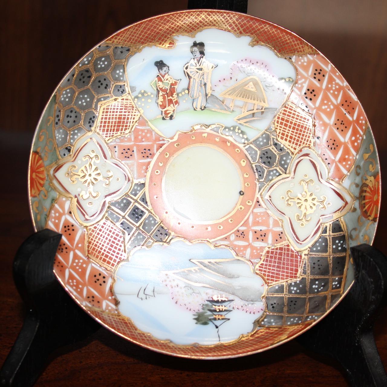 Antique Japanese Porcelain Plate
